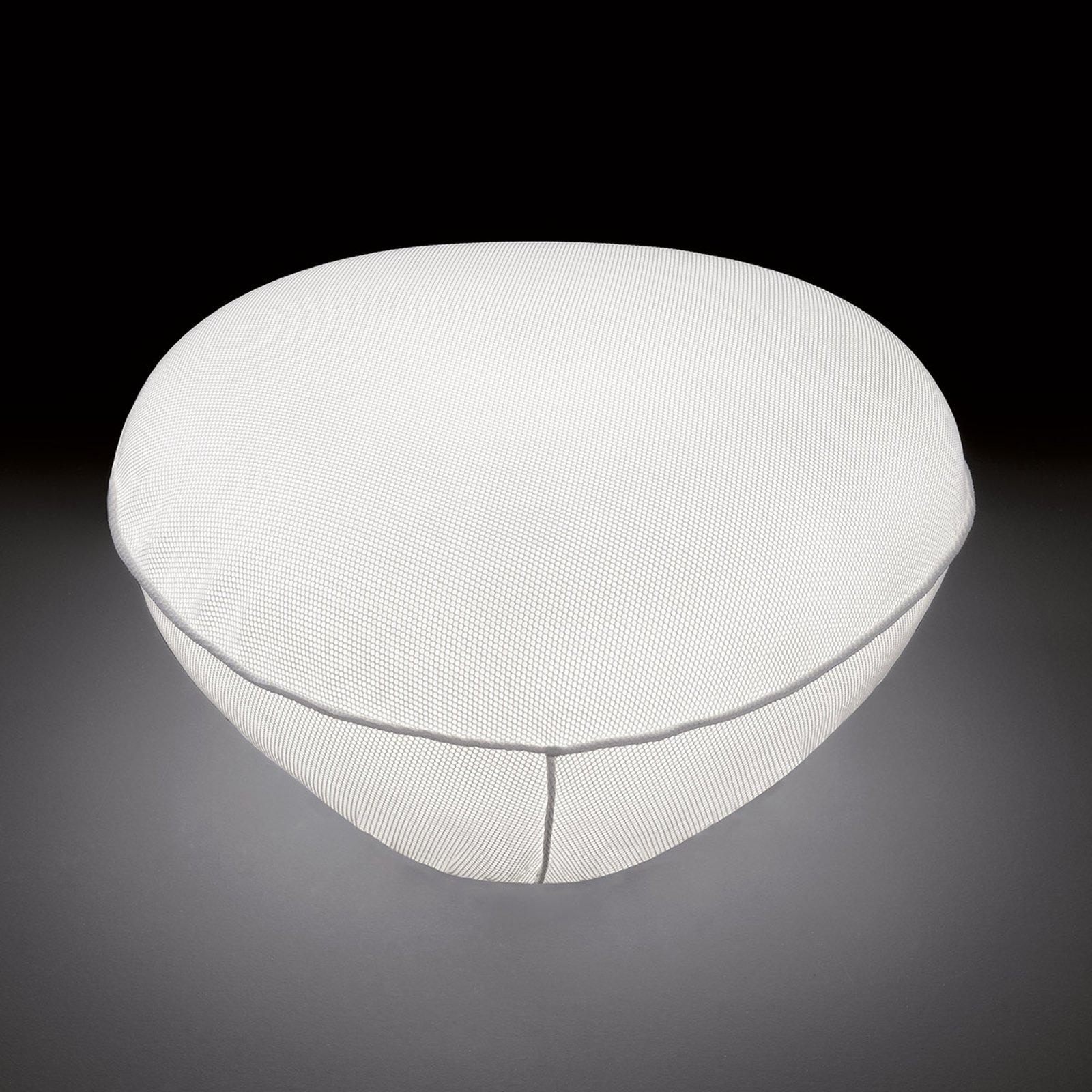 Utvendig -dekorasjonslampe Pill-Low, hvit