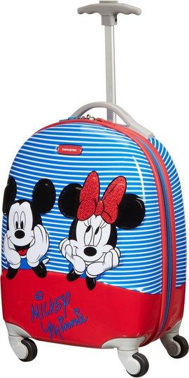 Samsonite Disney Spinner Koffert 20.5L, Minnie/Mickey Stripes