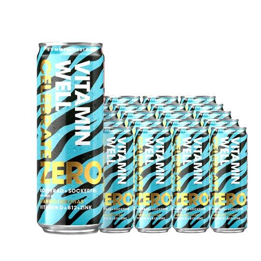 Vitamin Well Zero Celebrate 24-pack - 50% rabatt