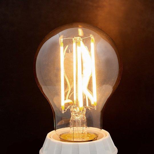 E27-LED-filamenttilamppu 6 W 500 lm ambra 2 200 K