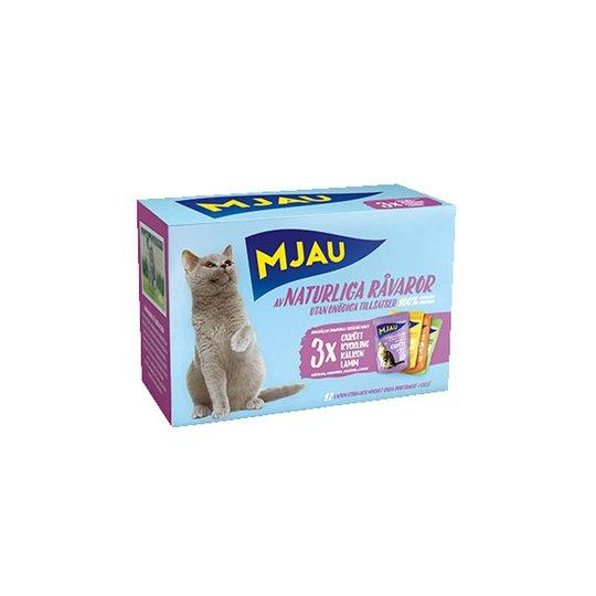 Mjau Multipack Köttsmaker i Gelé
