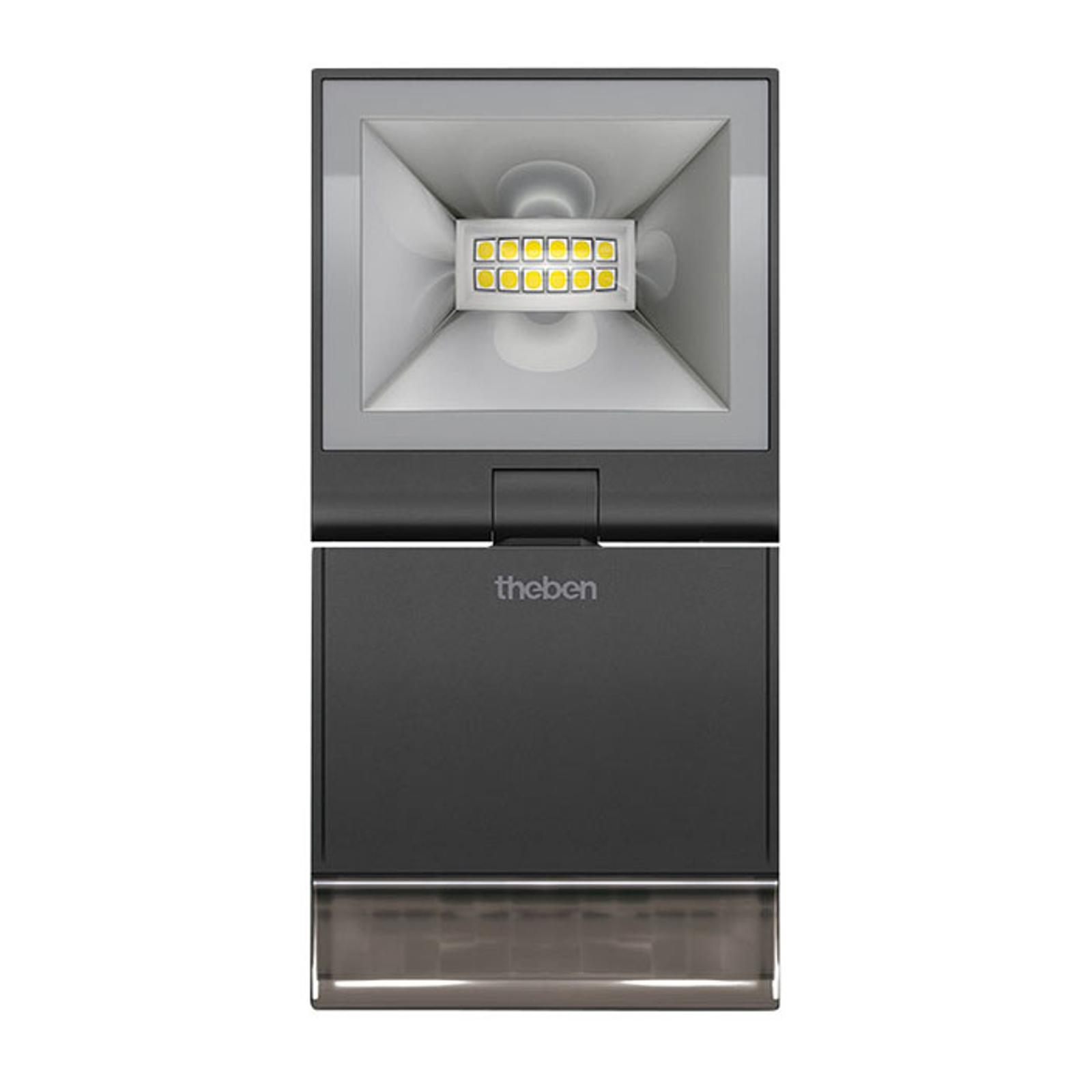 Theben theLeda S10 1-lamp. tunnistin 3000K musta