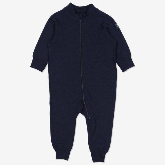 Dress ullfrotté baby mørkblå