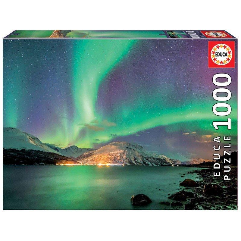 Educa - Puzzle 1000 - Northern Lights (017967)