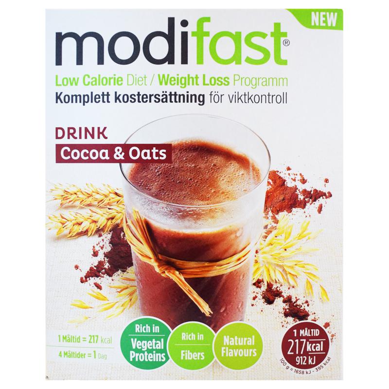 """Kostersättning """"Drink Cocoa & Oats"""" 220g - 58% rabatt"""