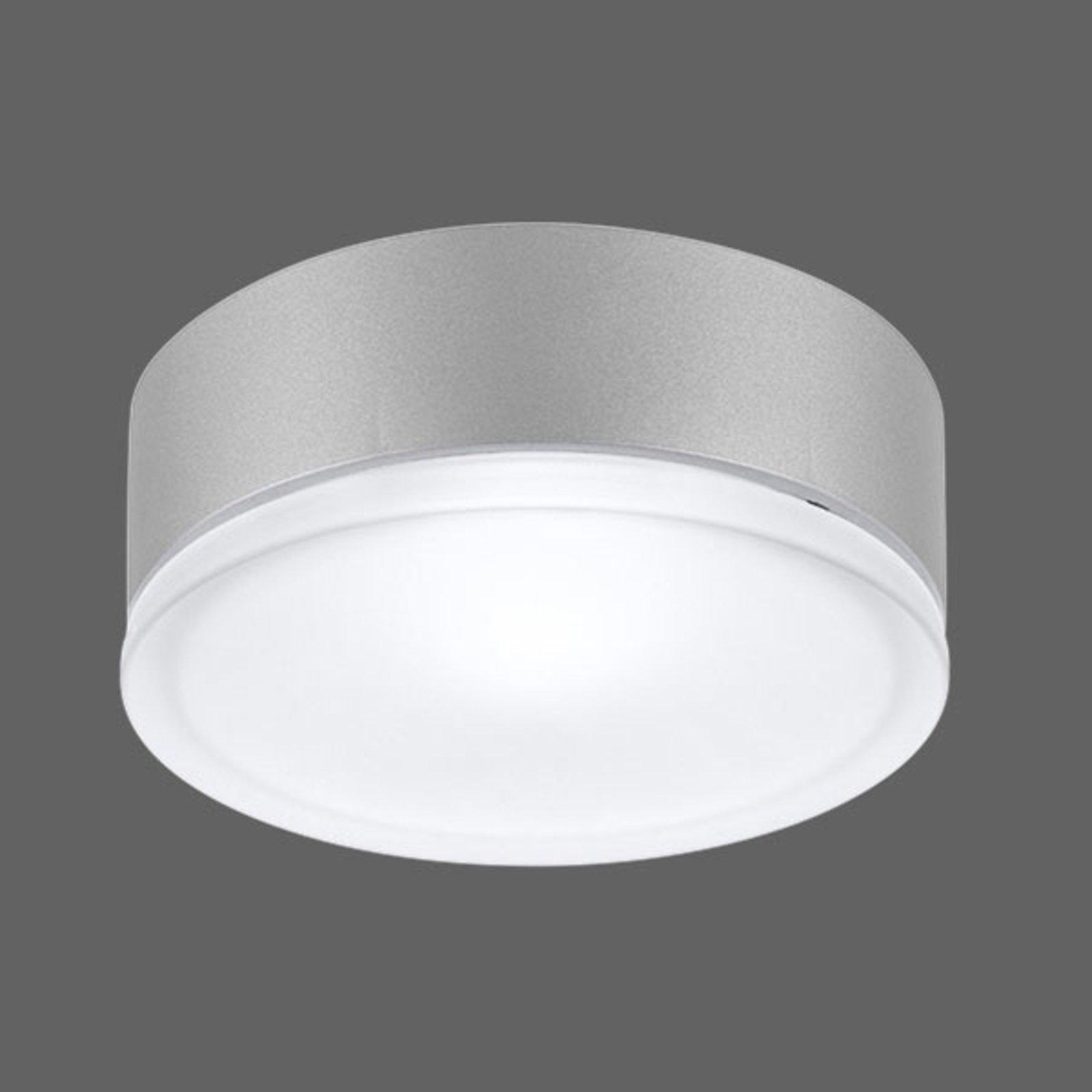 Drop 28 utendørs LED-vegglampe i grå 3 000 K