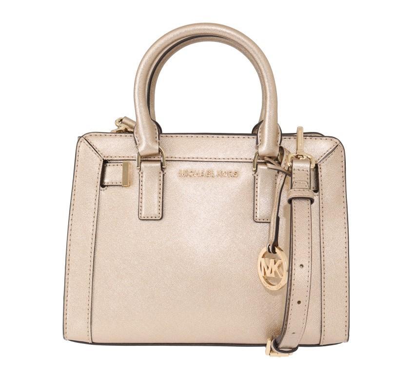 Michael Kors Women's DILLON Shoulder Bag Gold MK5013