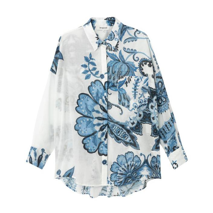Desigual Women's Shirt White 189499 - white S