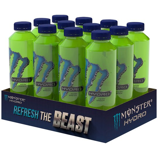 "Energidryck ""Monster Hydro Mean Green"" 12 x 550ml - 77% rabatt"