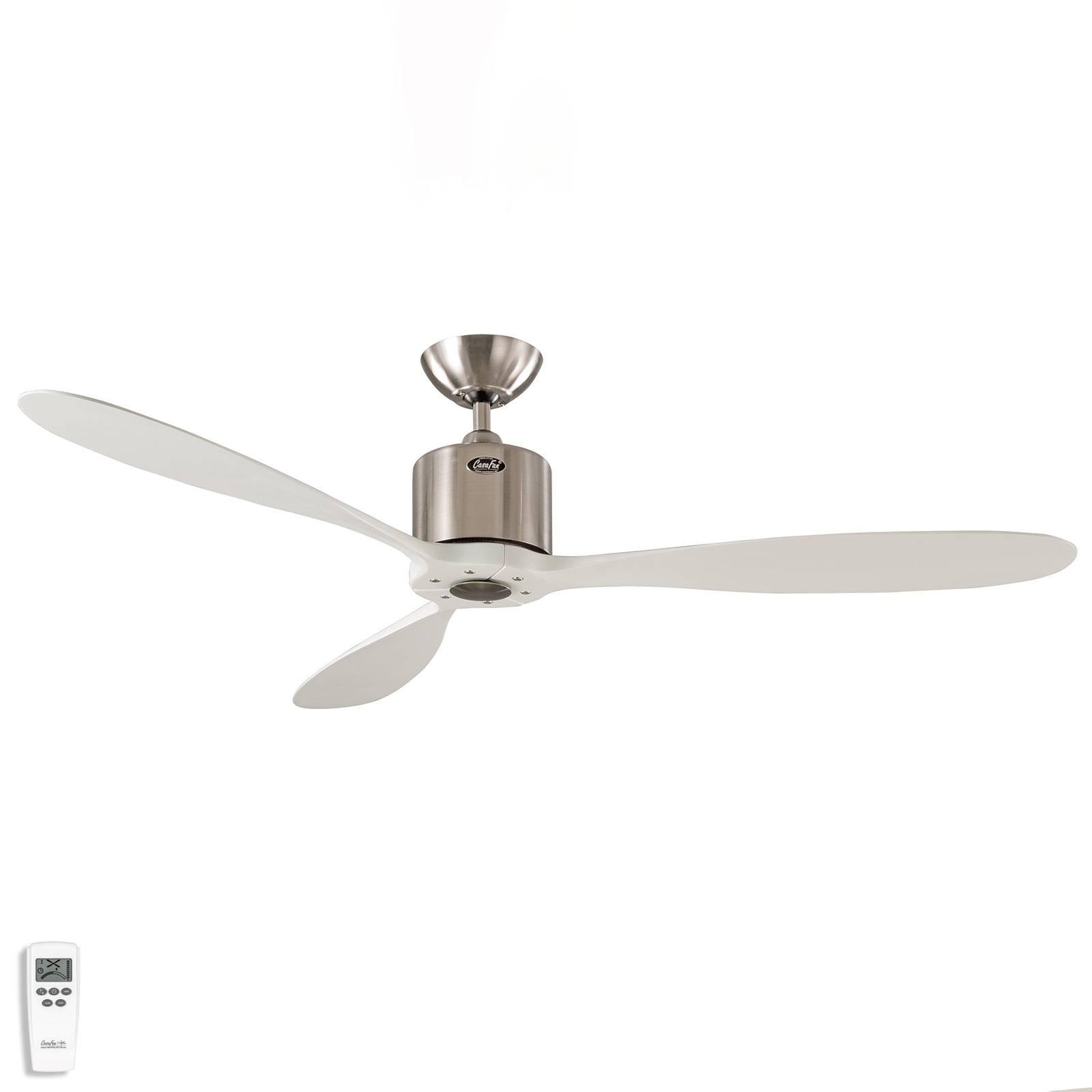 Kattotuuletin Aeroplan Eco, kromi, valkoinen