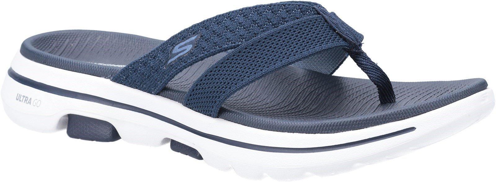 Skechers Women's Gowalk Slip On Sandal Various Colours 30354 - Navy 3