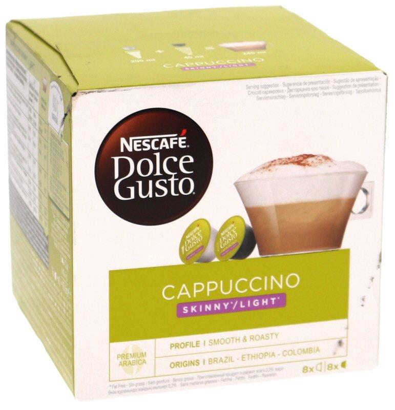Dolce Gusto Cappuccino Light kahvikapseli - 40% alennus