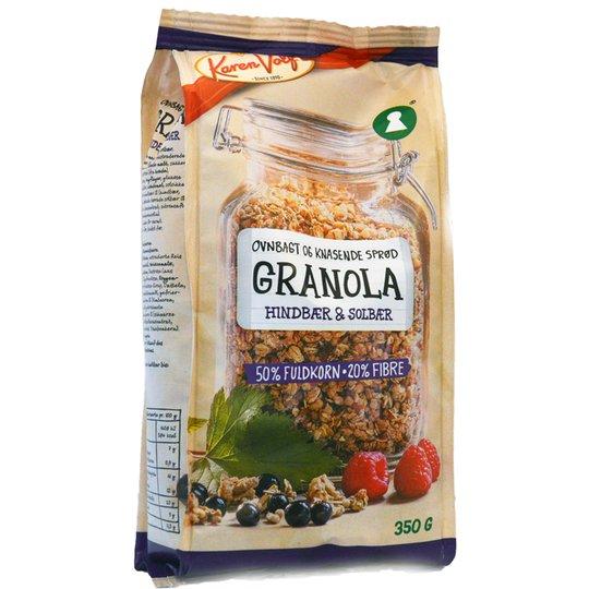 Granola Hallon & Svartvinbär - 71% rabatt