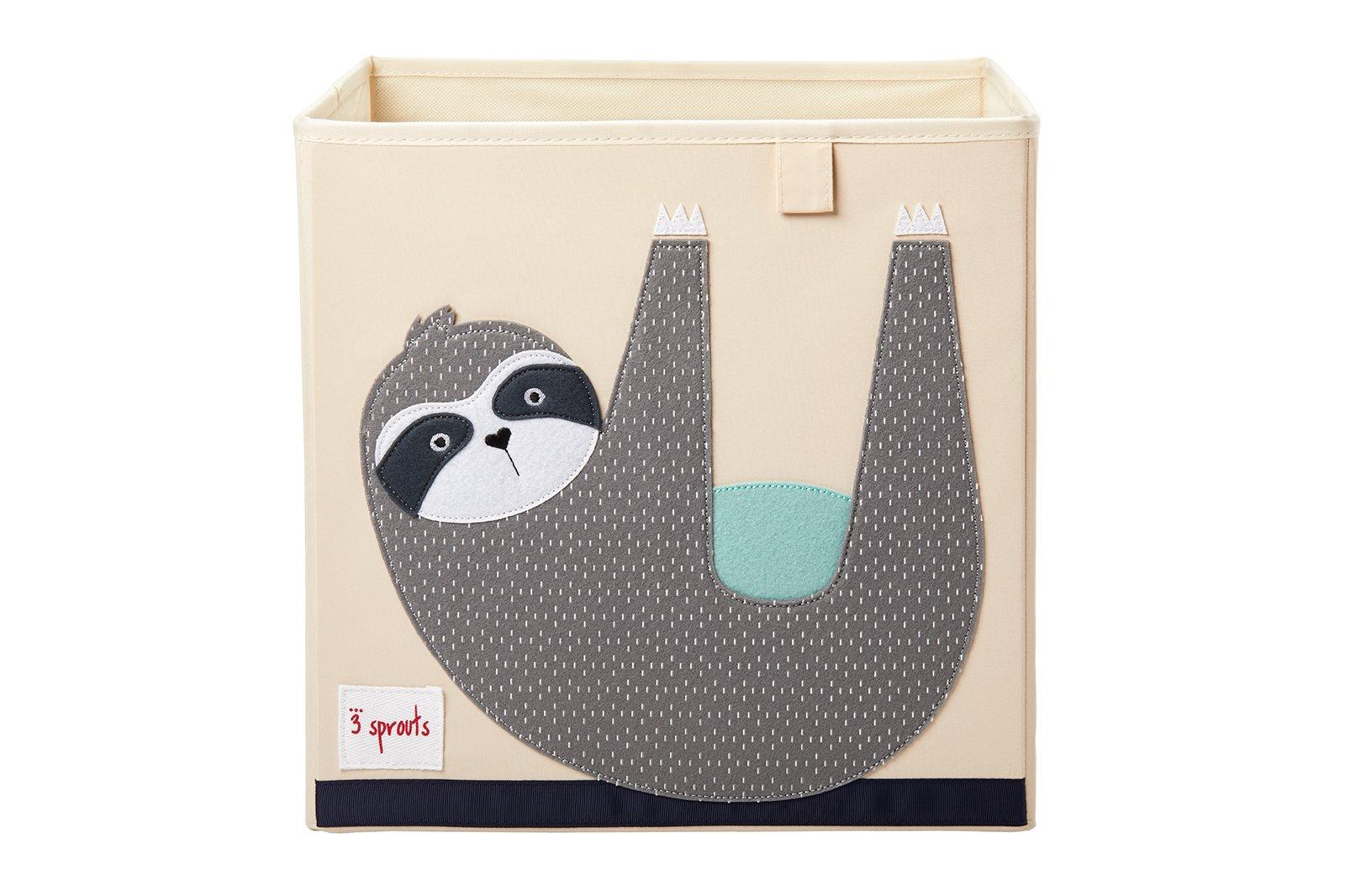 3 Sprouts - Storage Box - Gray Sloth