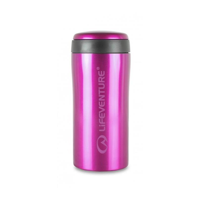 Lifeventure Thermal Mug - Pink Holder på varmen i opptil 4 timer!