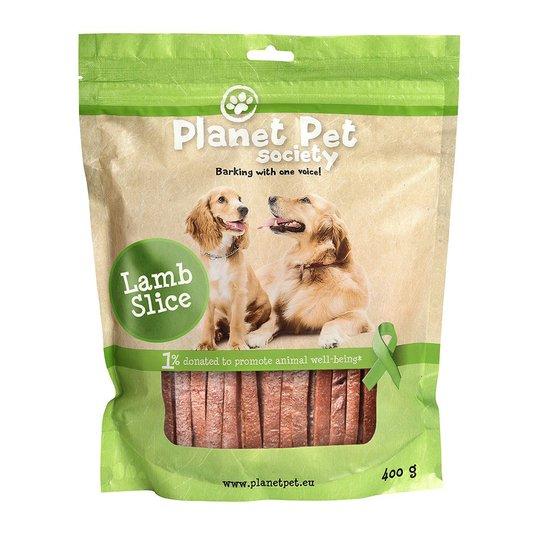 Planet Pet Society Lammstrips 400 g