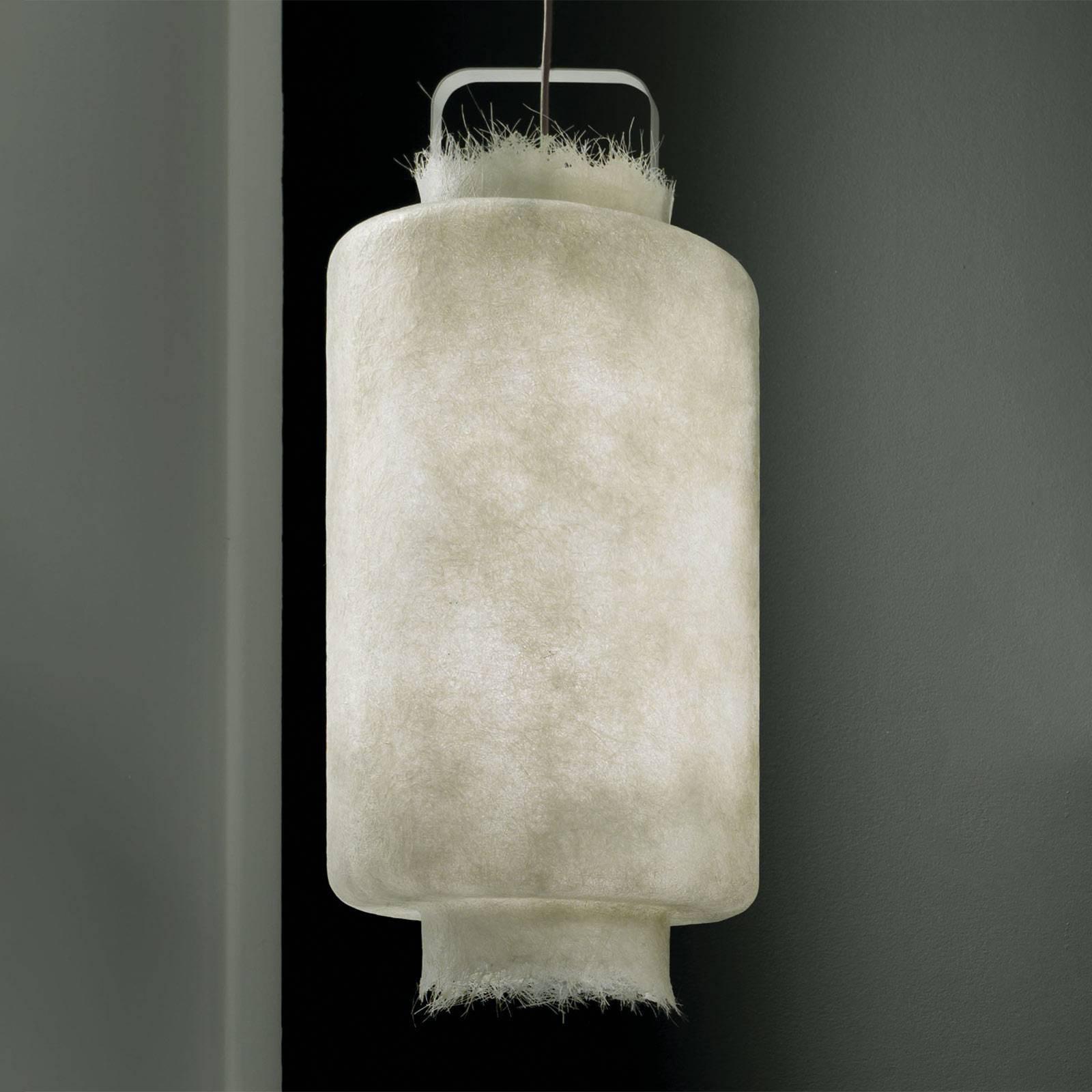 Karman Kimono utendørs LED-pendellampe, Ø 40 cm