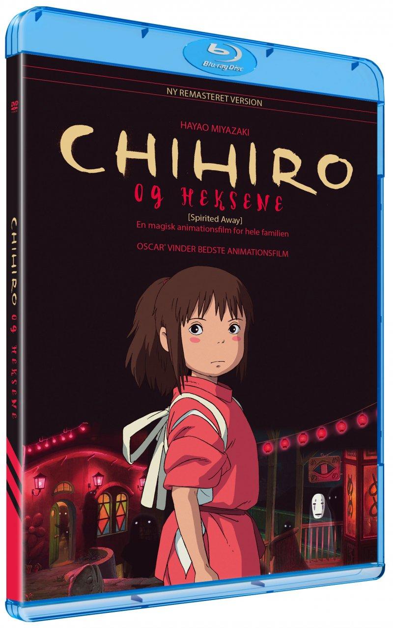 Chihiro og heksene (Blu-Ray)