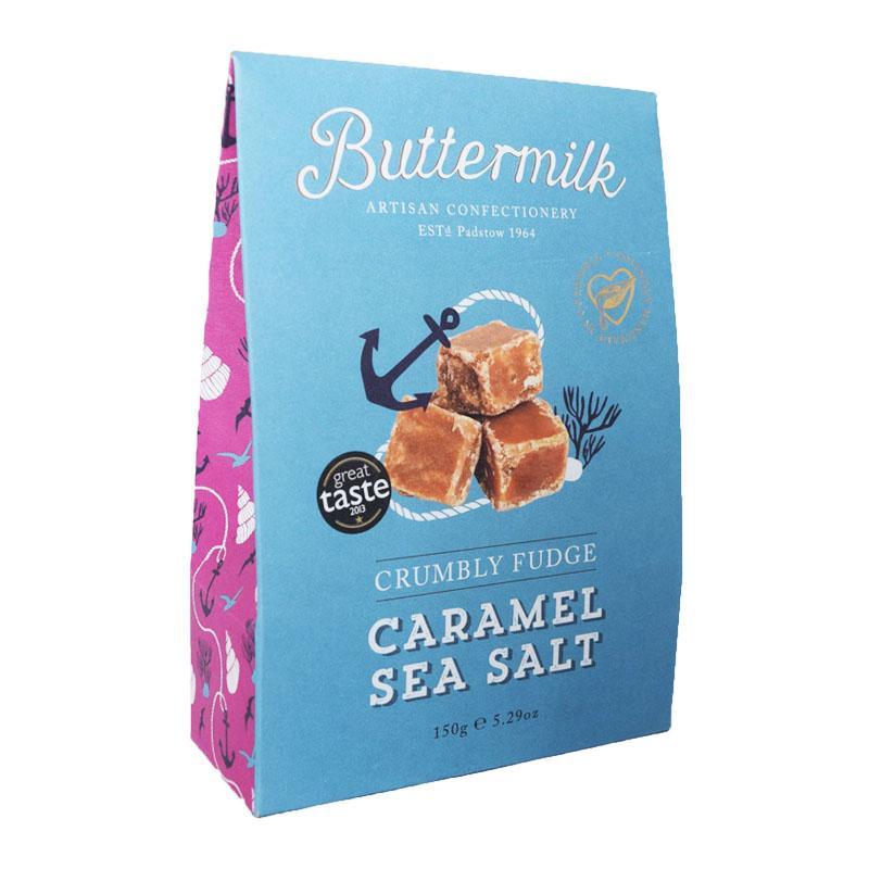 "Godis Fudge ""Caramel & Sea Salt"" 150g - 72% rabatt"