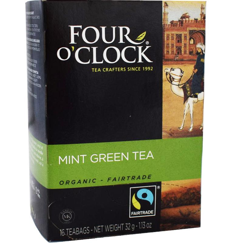 Te Grönt Mint, Eko Fairtrade 16p - 38% rabatt