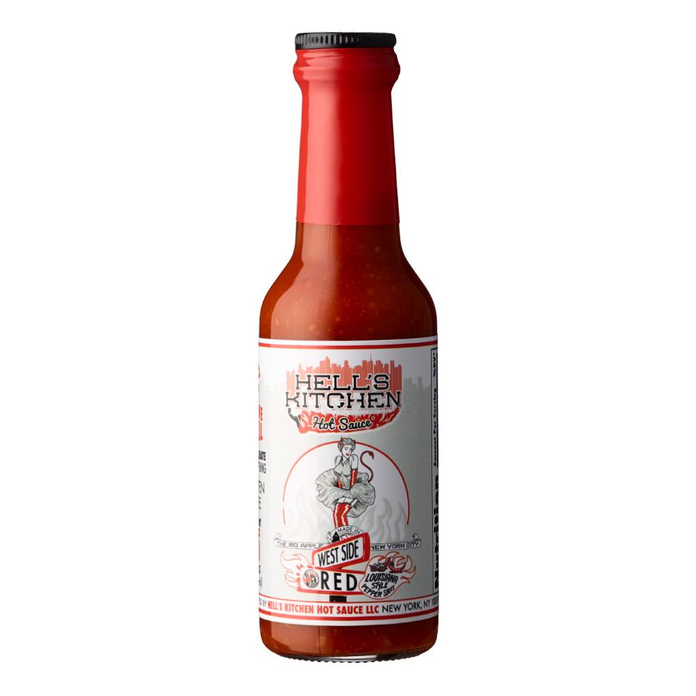 Hells Kitchen Westside Red Hot Sauce 148ml