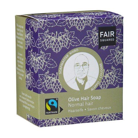 Fair Squared Olive Hair Soap Normal Hair, 2 x 80 g
