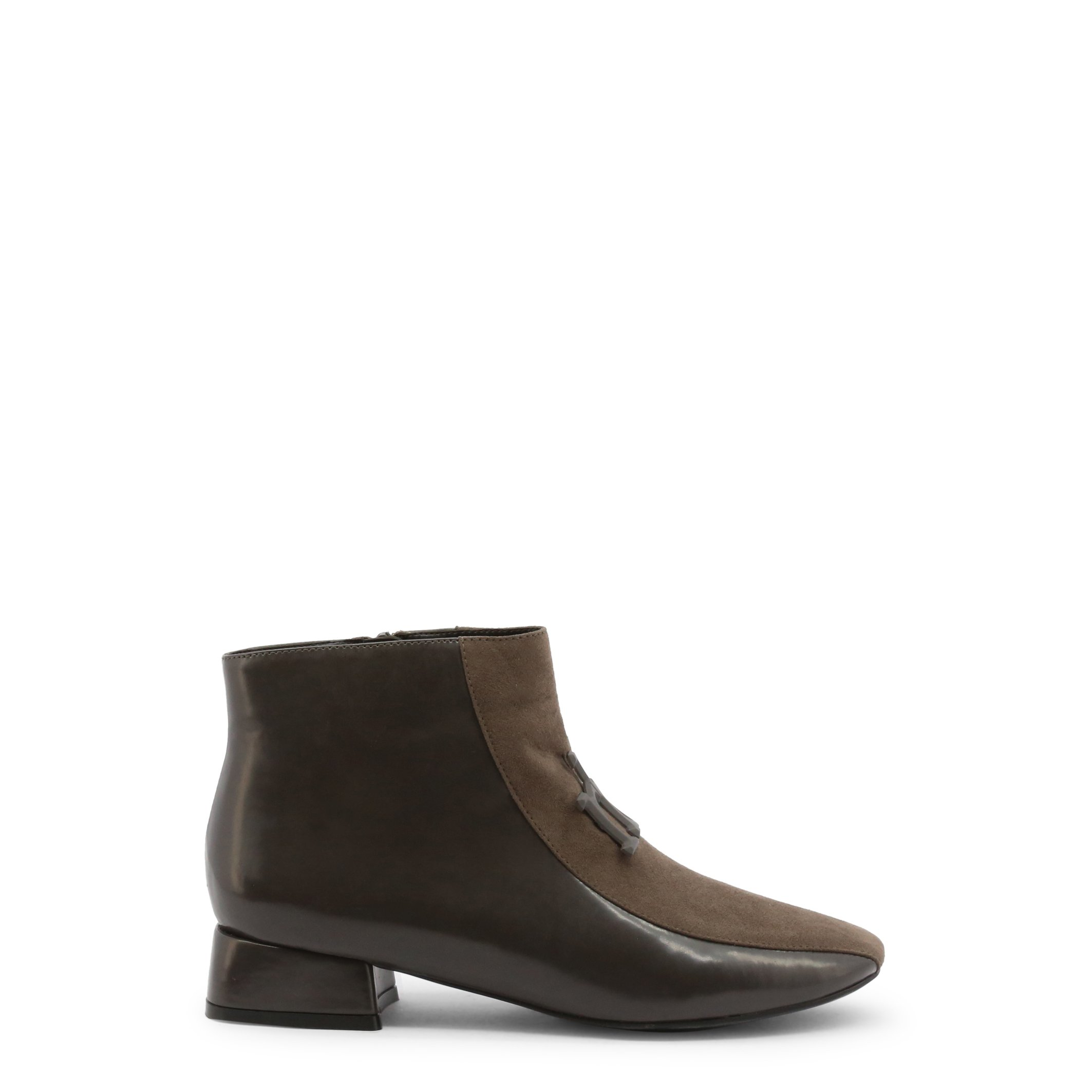 Roccobarocco Women's Ankle Boots Black 342842 - grey EU 37