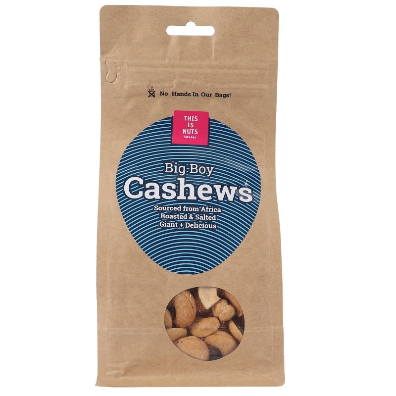 Cashewnötter Big Boy - 23% rabatt