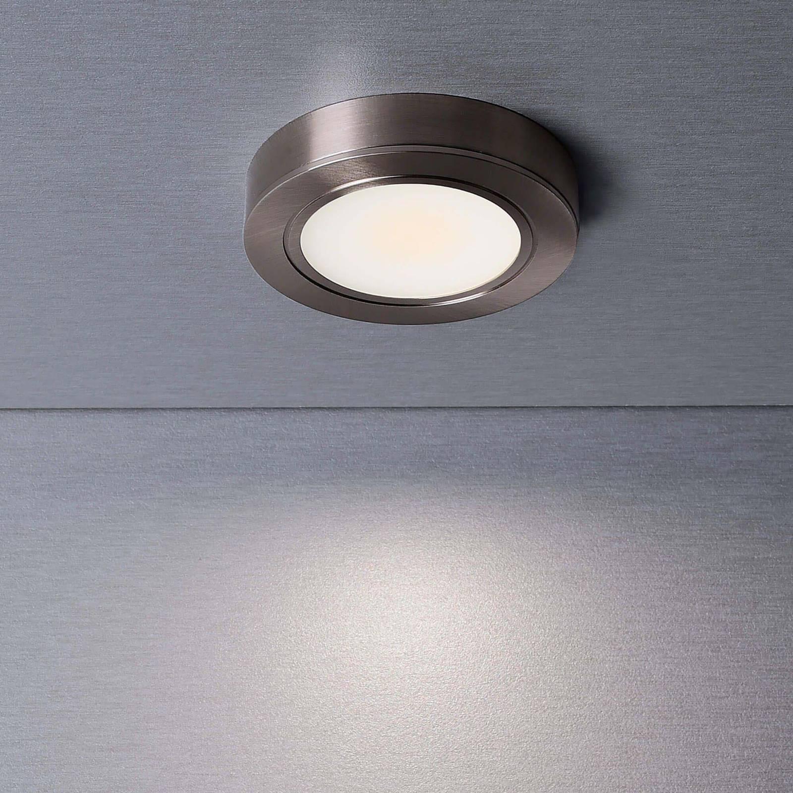LED-kalustevalaisin Baham I, 3 kpl, Ø 6,2 cm