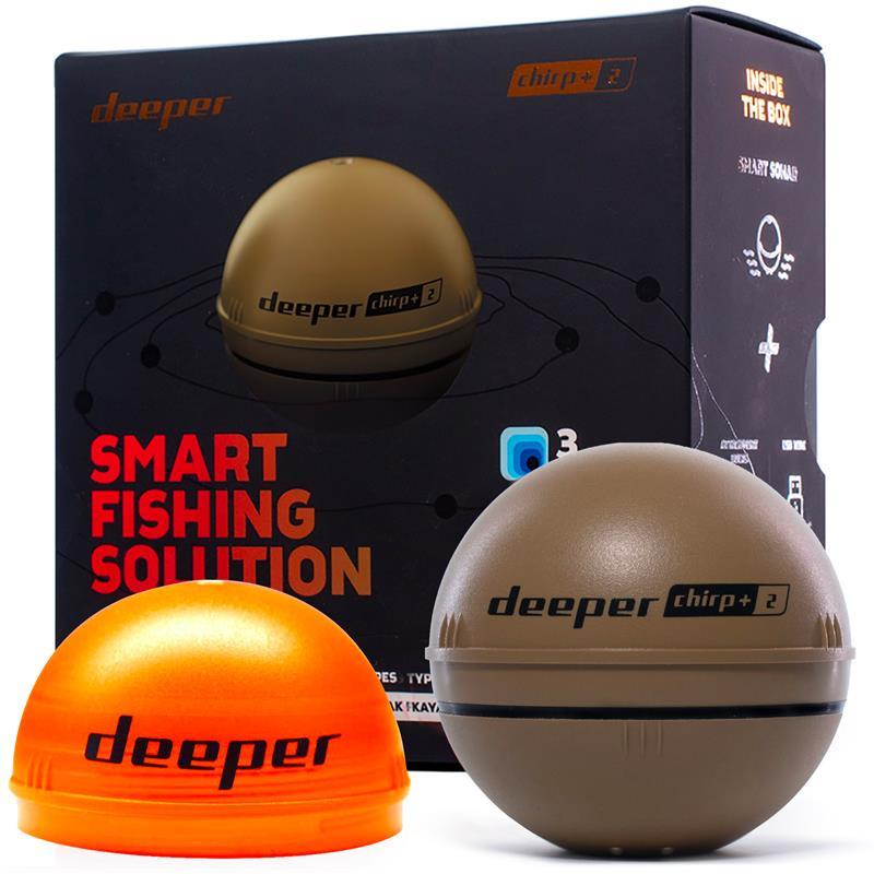 Deeper Smart Sonar Chirp+ 2 Med Wi-Fi og GPS