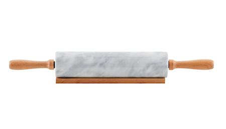 Kjevle i marmor 46 cm