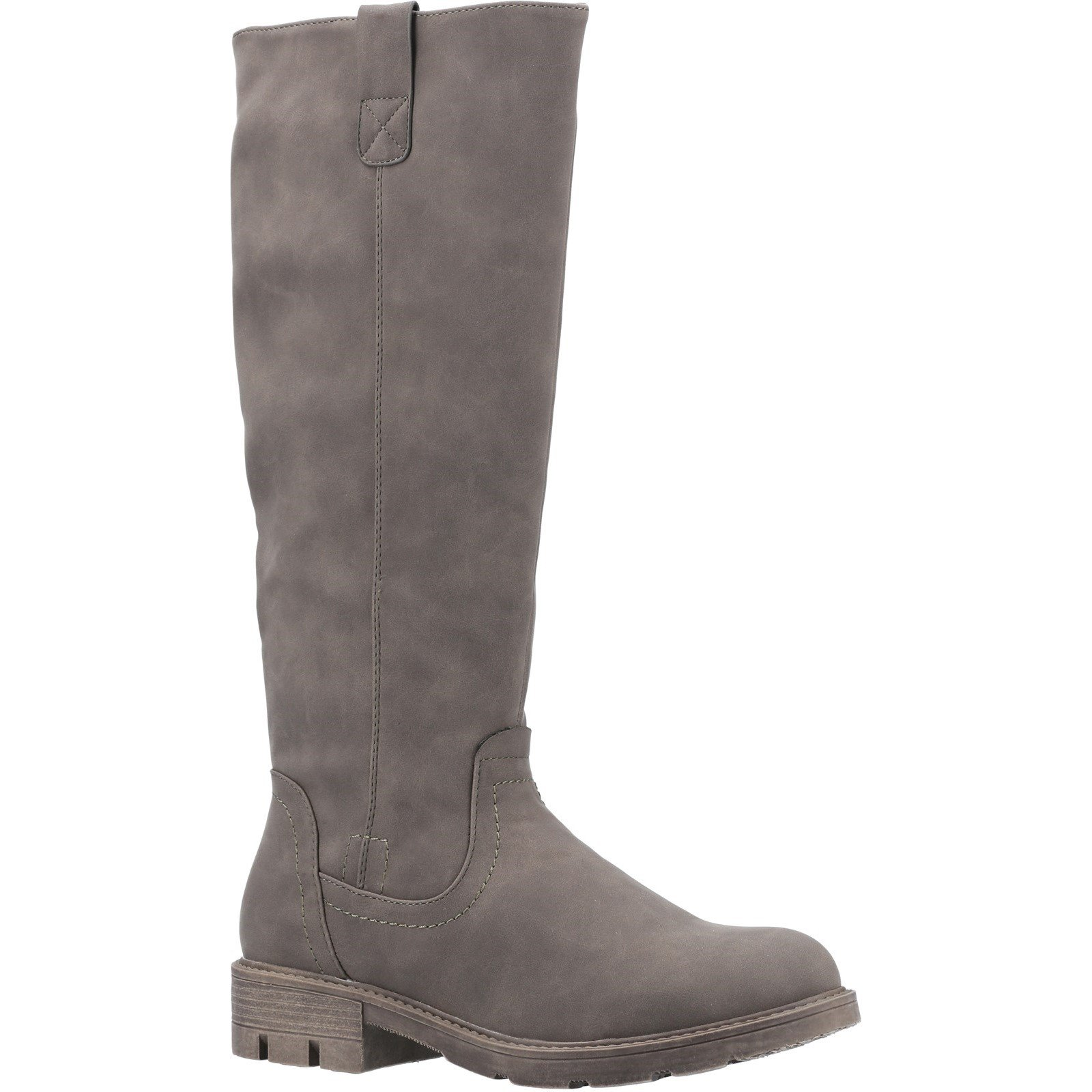Divaz Women's Quinn Knee High Boot Various Colours 31080 - Olive 3