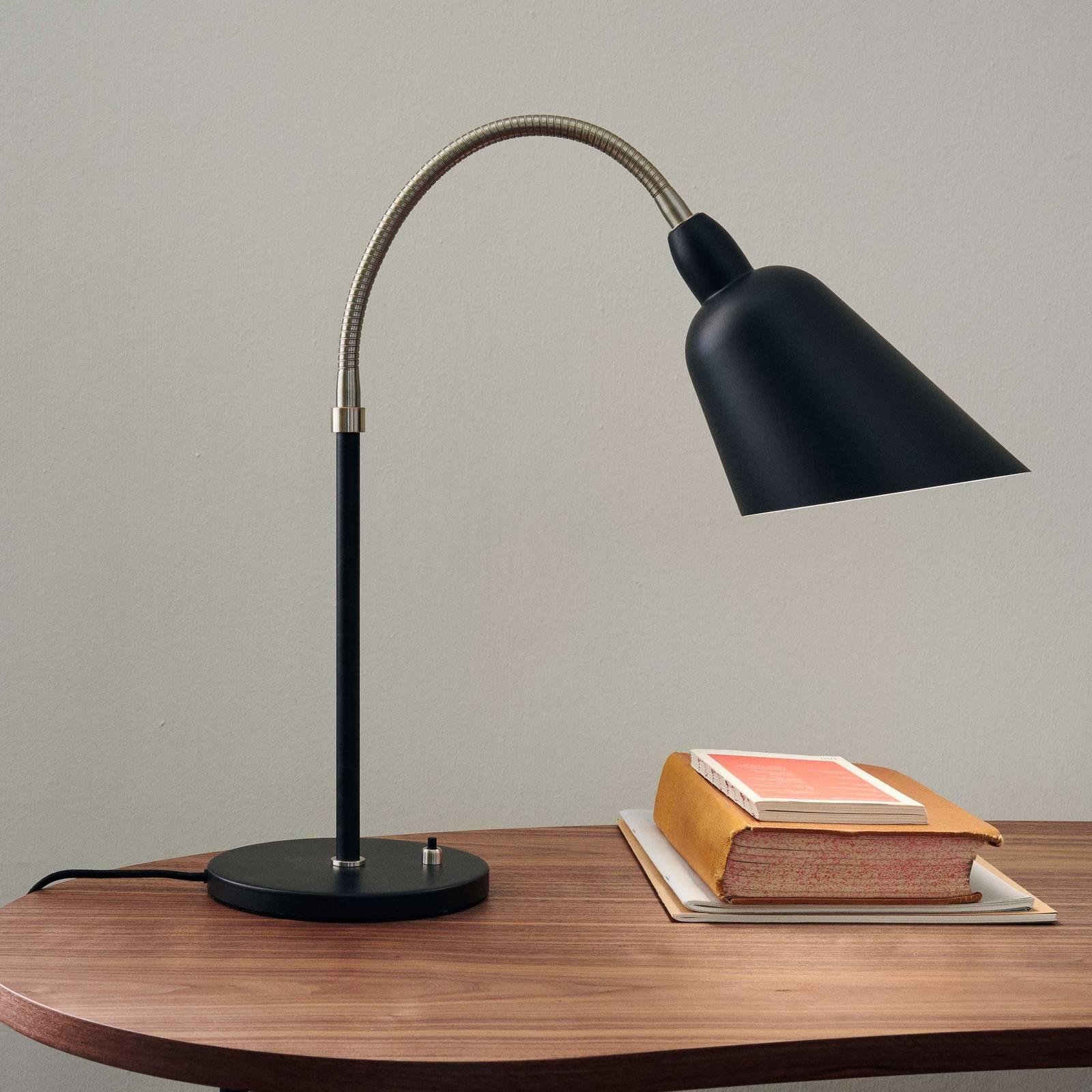 &Tradition Bellevue AJ8 -pöytälamppu, musta/teräs