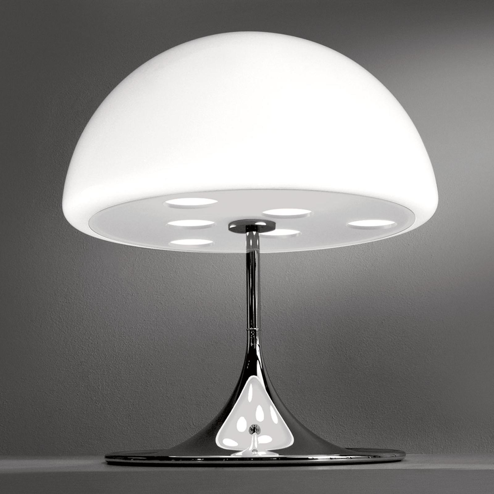 Martinelli Luce Mico -pöytälamppu 60 cm, valkoinen