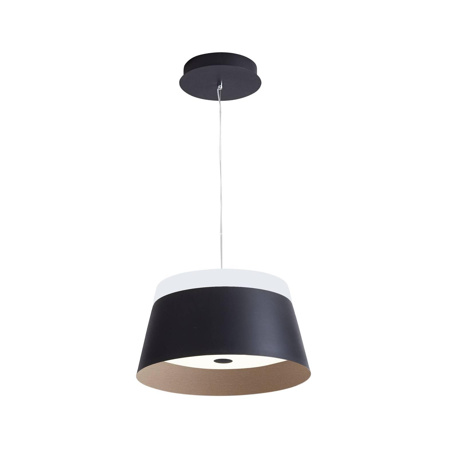 Arcchio Mitara -LED-riippuvalaisin, musta-kulta