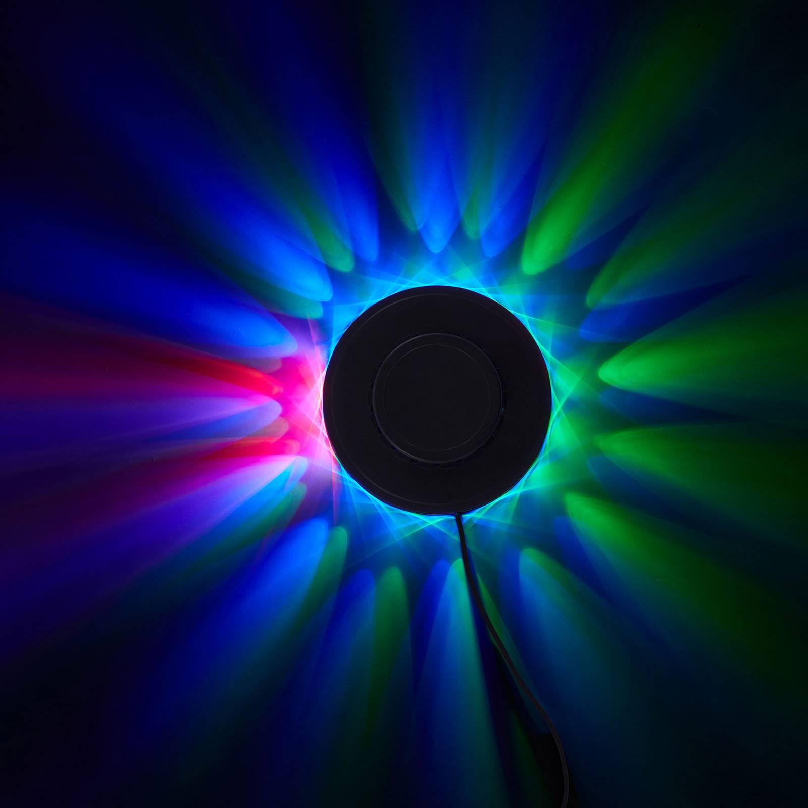 RGB-LED-valopyörä, koristevalo ja musiikkisensori