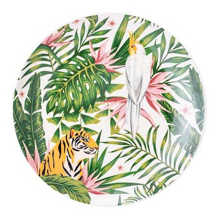 Moana Plate, Multi-color, Stoneware