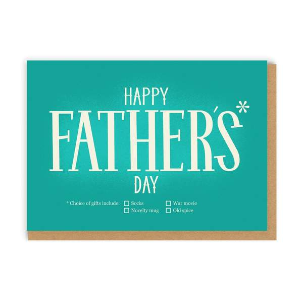 Dad Star Father's Day Greeting Card