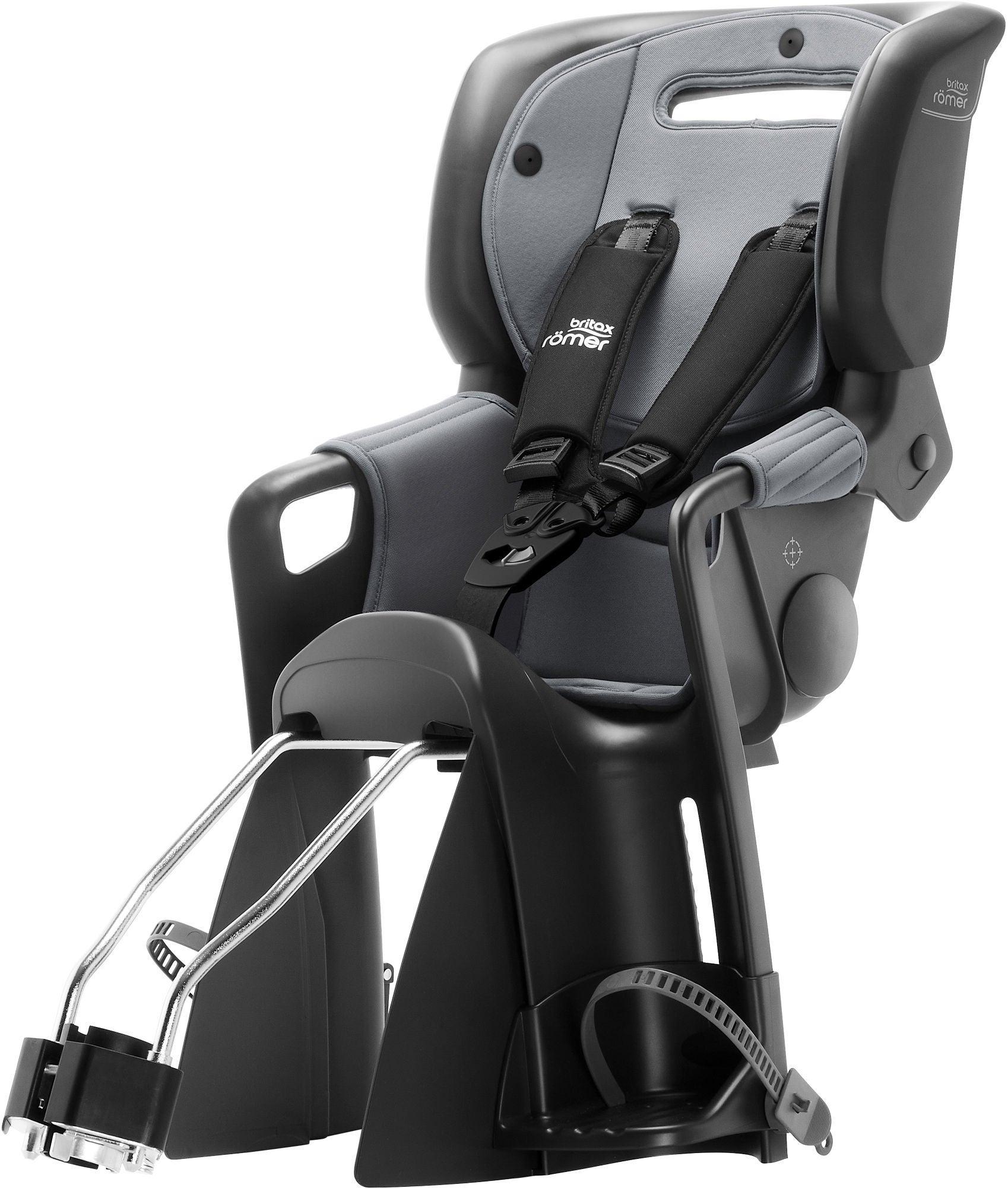 Britax Römer Jockey 3 Comfort Cykelsits, Black/Grey