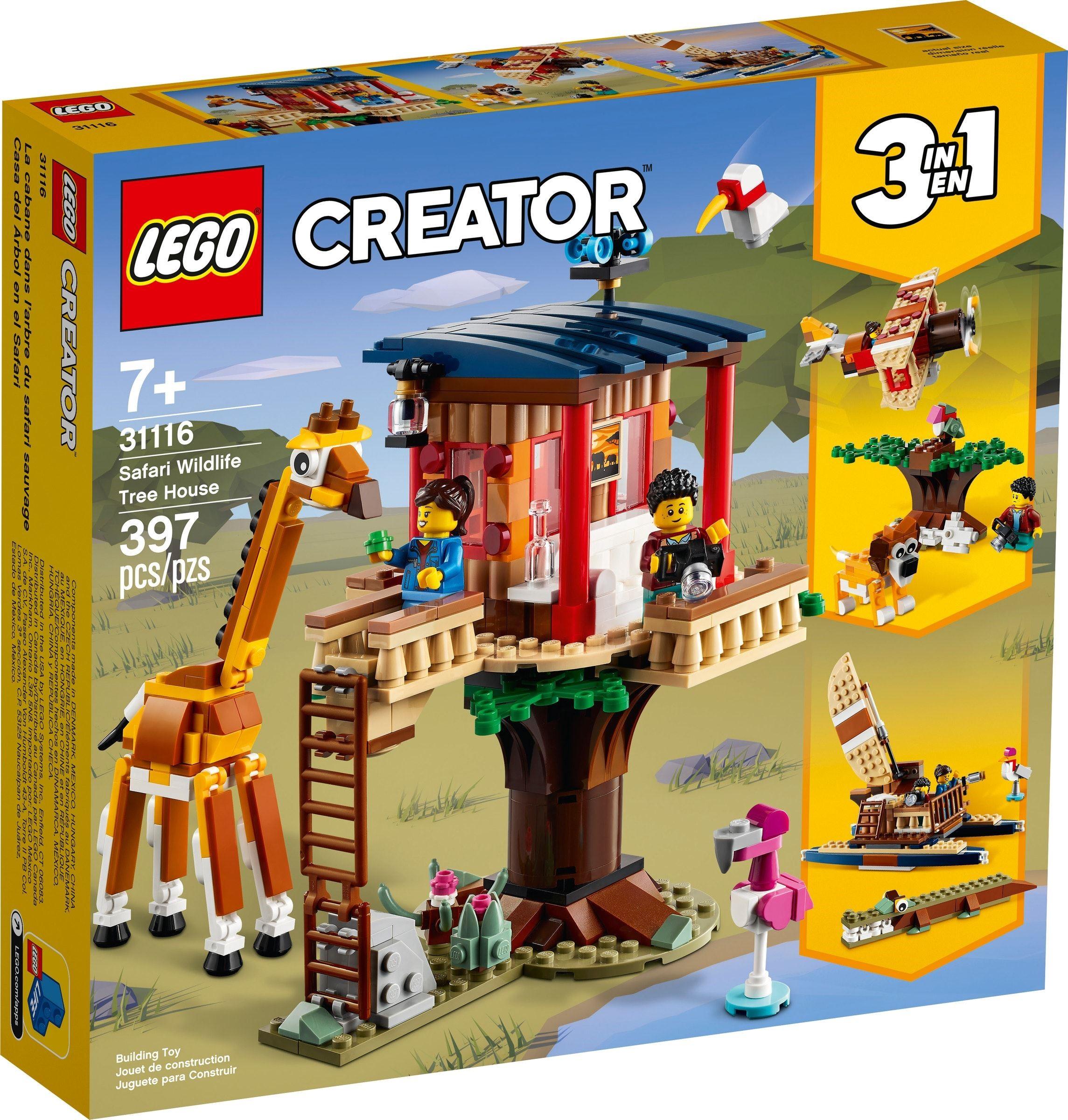 LEGO Creator - Safari Wildlife Tree House (31116)