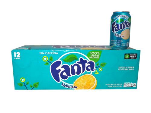 Fanta Grapefruit 12-pack