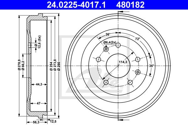 Jarrurumpu ATE 24.0225-4017.1