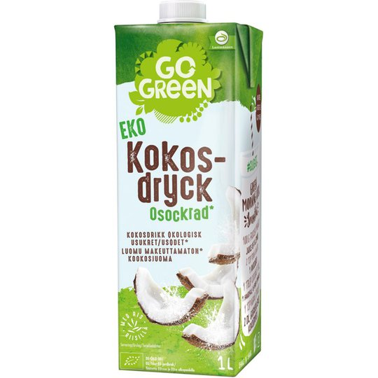 Eko Kokosdryck Osockrad 1l - 32% rabatt