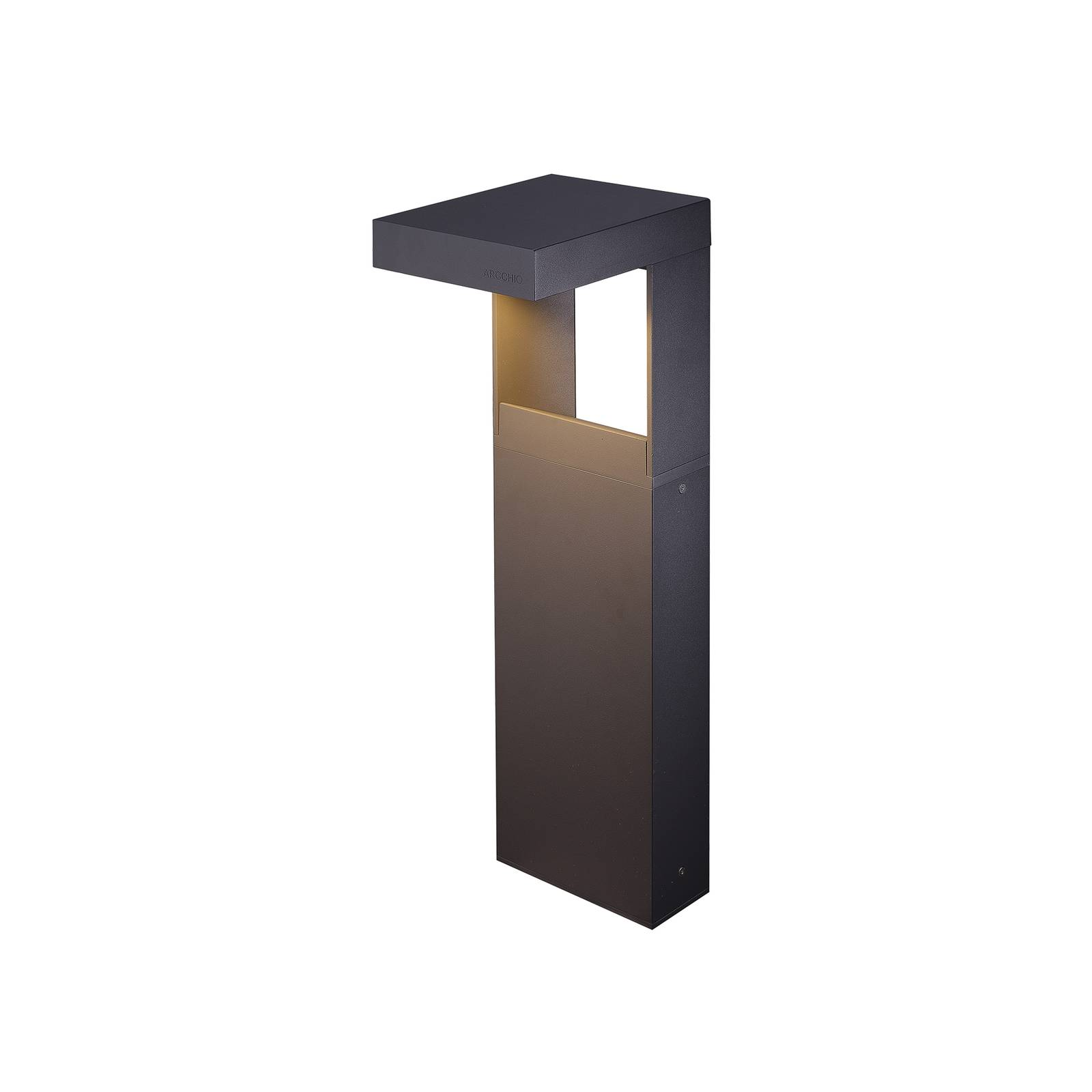 Arcchio Dynorma -LED-pollarivalaisin