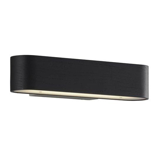 Lucande Matteo LED-vegglampe, asketre-skjerm