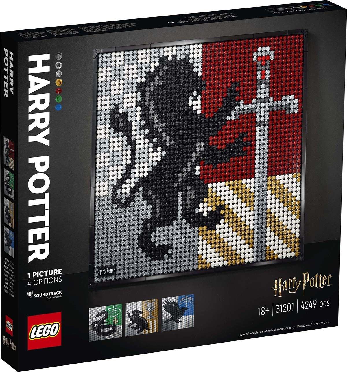 LEGO ART 31201 Harry Potter™ Tylypahkan Vaakunat