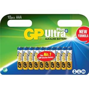 Batteri GP Alkaline Ultra Plus AA, 10-pack
