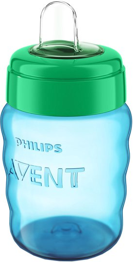 Philips Avent Barnekopp 260ml, Blå/Grön