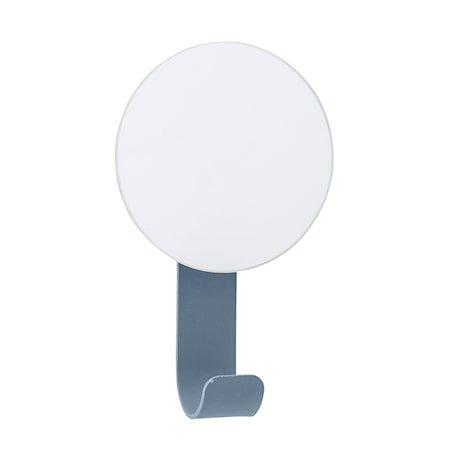Speil med krok 12x7 cm - Blå