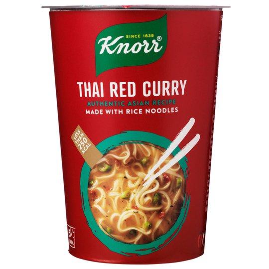 Punainen Curry Riisinuudelikeitto - 63% alennus